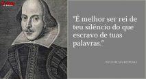 É melhor ser rei de teu silêncio do que escravo de tuas palavras.