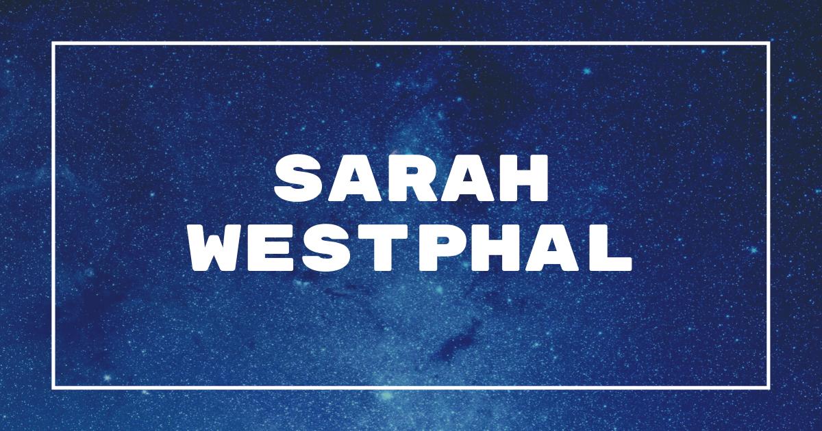 Frases de Sarah Westphal